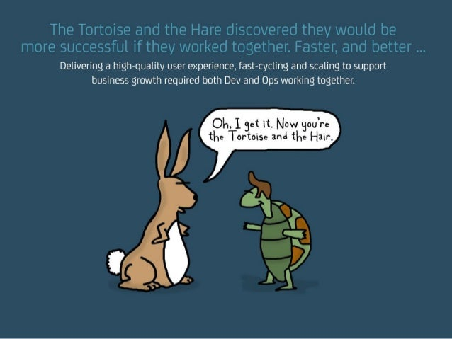 The Tortoise and the Hare discovered they would be more successful if they worked together. Faster, and better … Deliverin...