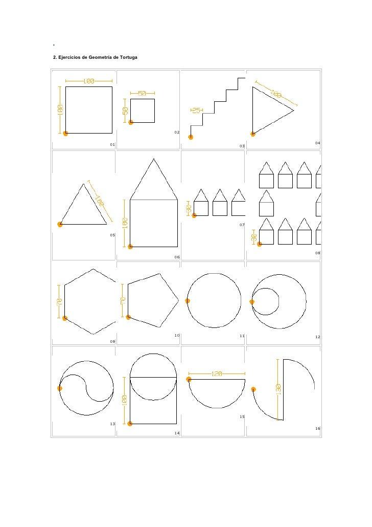 2. Ejercicios de Geometría de Tortuga                                             02                            01        ...