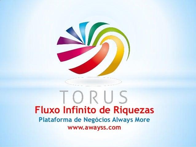 Fluxo Infinito cie Riquezas Plataforma de Negöcios Always More www. awayss. c0m
