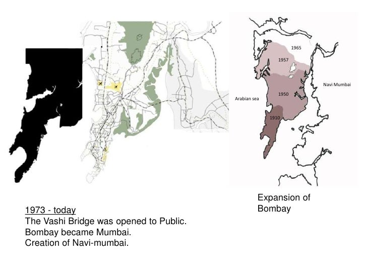 1925<br />Electrified Suburban Trains.<br />Completion of northern suburbs.<br />1945 – 47<br />Greater Bombay Was Establi...