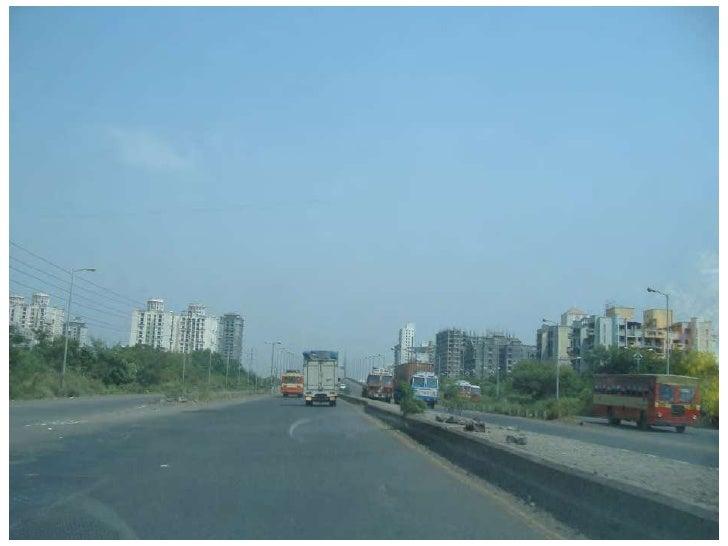 NAVI MUMBAI – THE BUILT FORM<br /><ul><li>The CBD lies art the center with all the major commercial, political and social ...