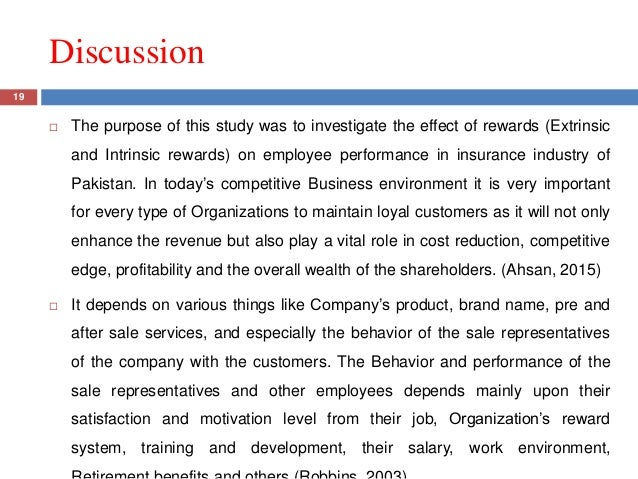 effect of financial rewards on employee performance How does employee engagement affect financial performance of  between employee engagement and financial profitability of an  and effect or direct.