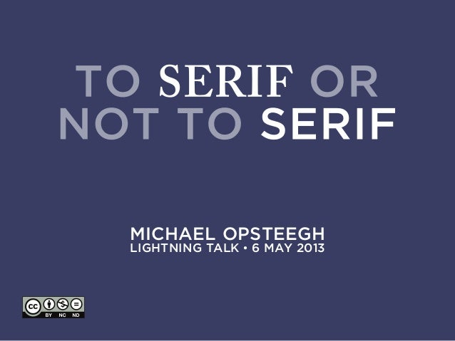MICHAEL OPSTEEGHLIGHTNING TALK • 6 MAY 2013