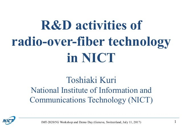 adaptation of radio over fiber technology Sébastien deronne  the radio-over-fiber (rof) technology is a suitable solution to  we report that the adaptation of the slot time parameter value is.