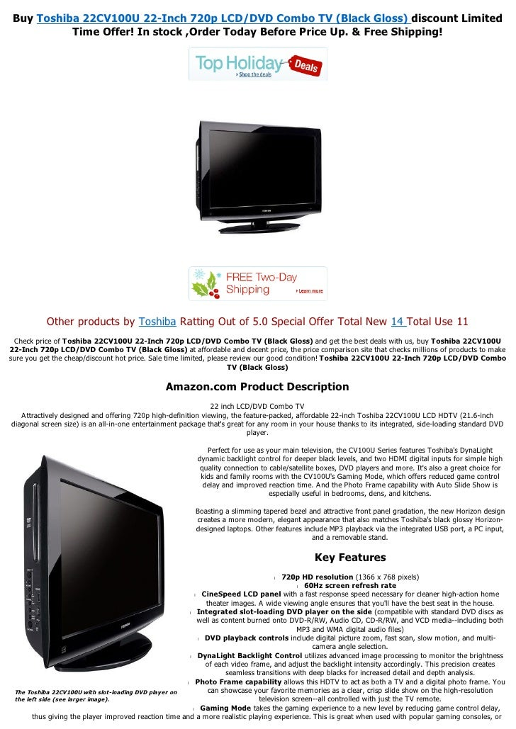 toshiba 22cv100u 22 inch 720p lcd dvd combo tv (black gloss) pdf Wiring for Home Entertainment Systems buy toshiba 22cv100u 22 inch 720p lcd dvd combo tv (black gloss)
