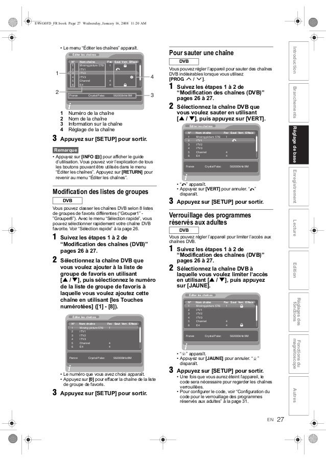 Toshiba dvr-60-notice-mode-emploi-guide-manuel-pdf