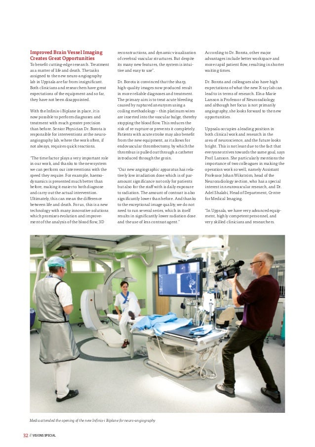 Toshiba Medical's VISIONS Magazine X-Ray Special