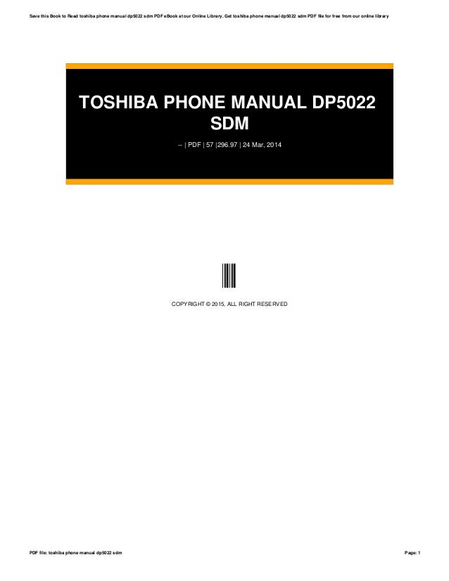 toshiba phone manual dp5022 sdm rh slideshare net toshiba phone systems manual dp5022-sd toshiba phone manual dp5022-sdm