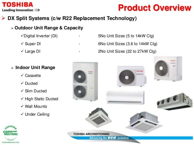 Dx A C Systems : Innovations toshiba