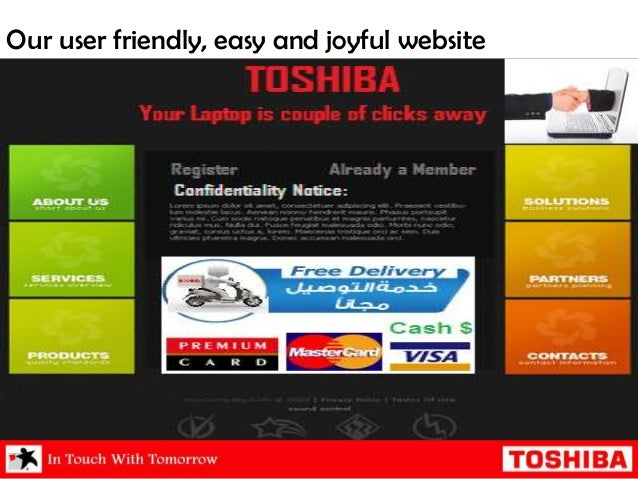 marketing plan of toshiba Concerning toshiba's future plans, strategies and performance  home air- conditioners: marketing integration to toshiba home appliances.