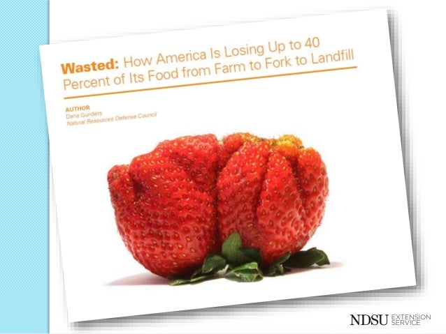 an essay on the wasted food in america Jonathan bloom explains the where's, how's, and why's of food waste in america read more published 1 year ago anthony asbury 50 out of 5 stars five stars good job.