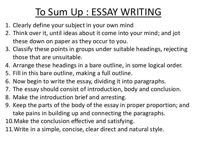 Learn how to write better essays