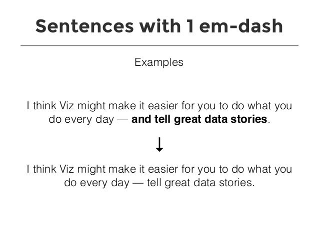 how to make the long dash in word