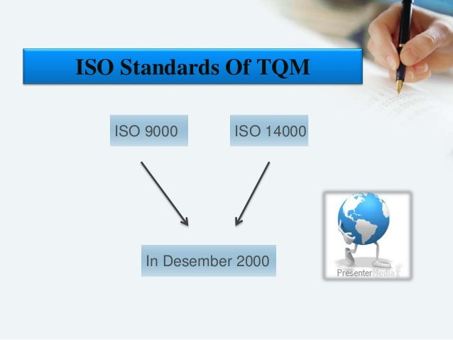 iso standards and tqm Six sigma is a collection of process improvement techniques and tools which can be used to improve the processes, and can be applied to processes within the quality management system that is defined by the iso 9001 standard.