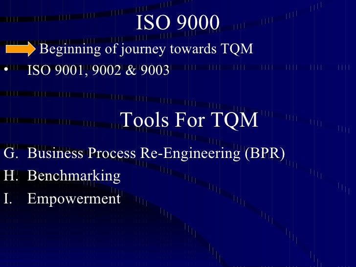 the road to tqm The ingaa foundation, inc request for proposals for a study on: practical implementation of a construction quality management system (cqms.