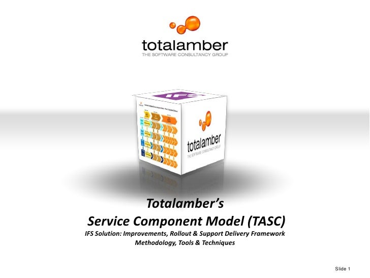 High Performance. Guaranteed.<br />Totalamber's<br /> Service Component Model (TASC)<br />IFS Solution: Improvements, Roll...