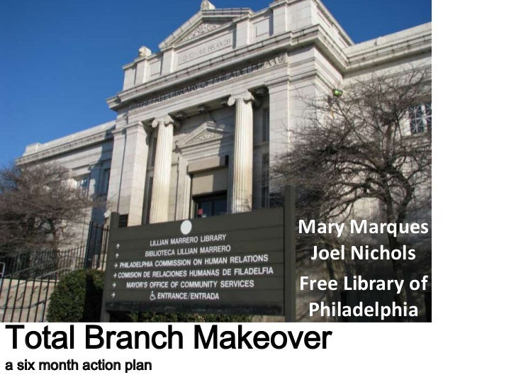 Mary Marques                           Joel Nichols                          Free Library of                           Phi...