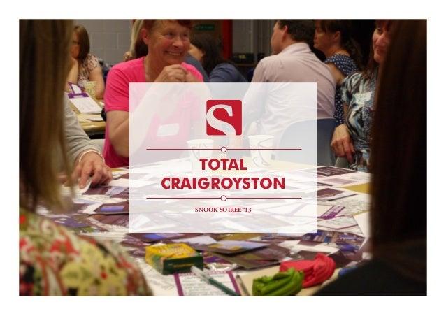 TOTAL CRAIGROYSTON SNOOK SOIREE '13