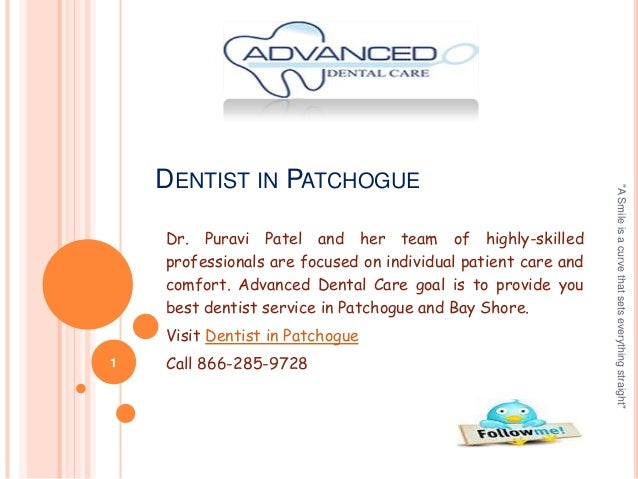 Dr. Puravi Patel and her team of highly-skilled professionals are focused on individual patient care and comfort. Advanced...