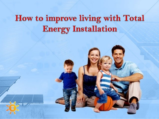 Total Energy Installation working in two fields, first one is the glass industry and second one is the green energy.. They...