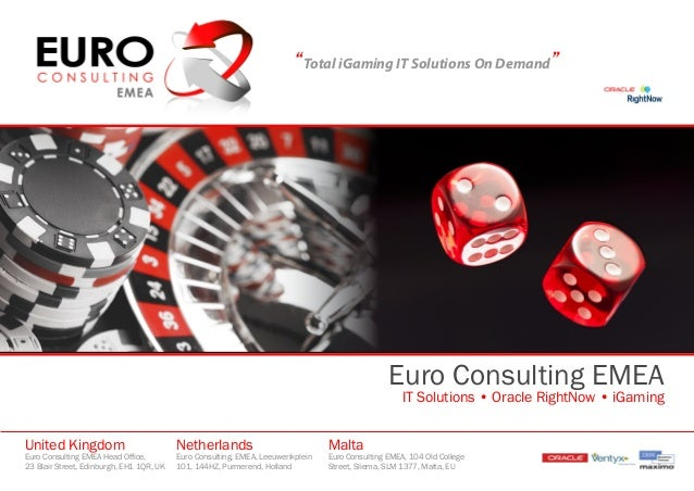 """""""Total iGaming IT Solutions On Demand""""                                                                                    ..."""