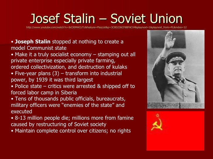 "totalitarianism soviet stalin How stalin uses the ""four weapons of totalitarianism"" in the soviet union deaths attributed to stalin's use weapons of totalitarianism""."