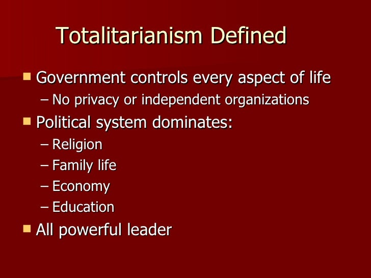 "essay on totalitarianism Totalitarianism, a concept deep where the hungarian philosopher recalls the thesis she put forward in her essay ""9/11, or modernity and terror"" in."