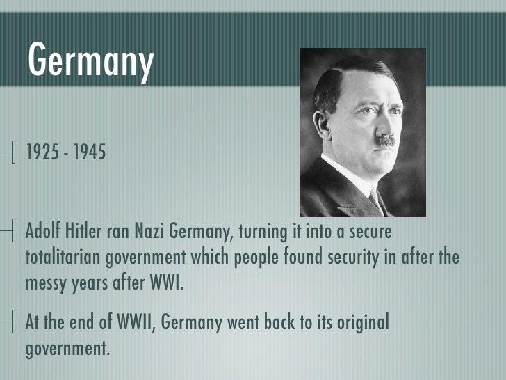 Totalitarianism
