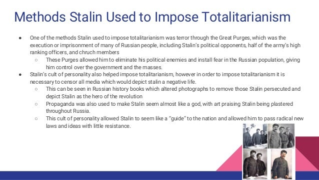 STALIN PART 2:Totalitarianism and stalin