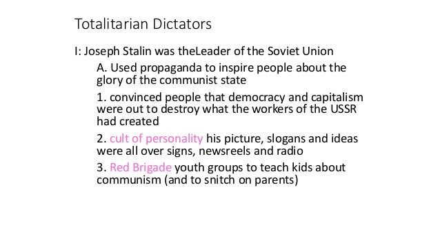 Why Totalitarian Dictators Separate Children from Their Families Essay