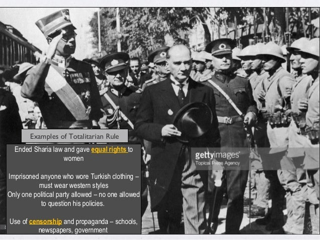 Totalitarian Leaders1