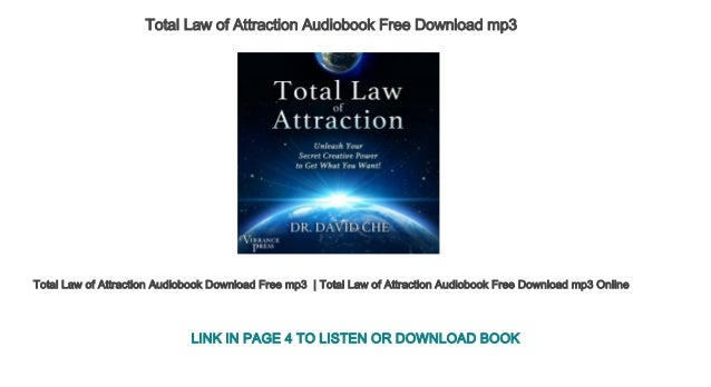 law of attraction audio books free download