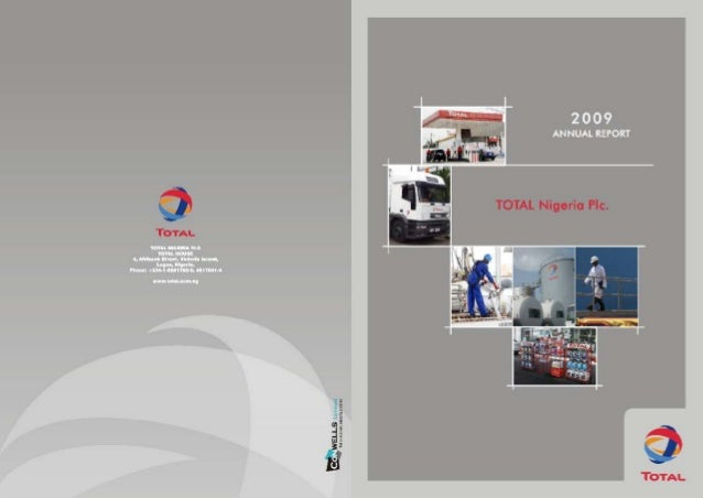 Total Nigeria Annual Report 2009