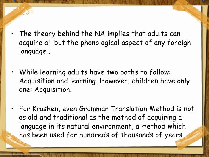 the total physical response approach to second language learning Total physical response (tpr) is a language teaching method  adult second language learning as a parallel  has a long tradition in language teaching approach.