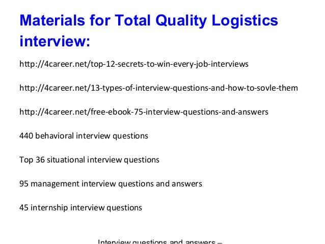 tql interview homework