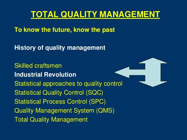 limits of total quality management Management actions to achieve the numerical limits specified in sans 241-1:  –water quality perceived to be worse  numerical limits d a total :.