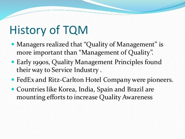ritz carlton total quality management Quality ritz carltonwmv wayne munro loading 'modern chairs' - a total quality management training video - duration: 10:31 spetznaz1 102,178 views.
