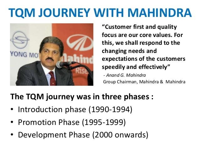 Total quality management at dominos india