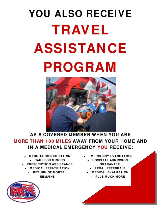 Motor club of america mca benefits and comp plan for American traveler motor club