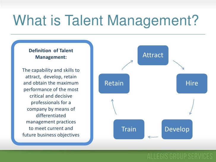 Total Talent Management Is Key For Hr Leadership