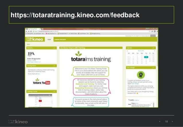 totara training