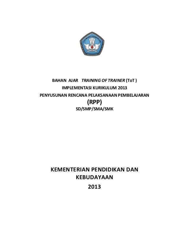 Tot Bahan Ajar Kurikulum 2013