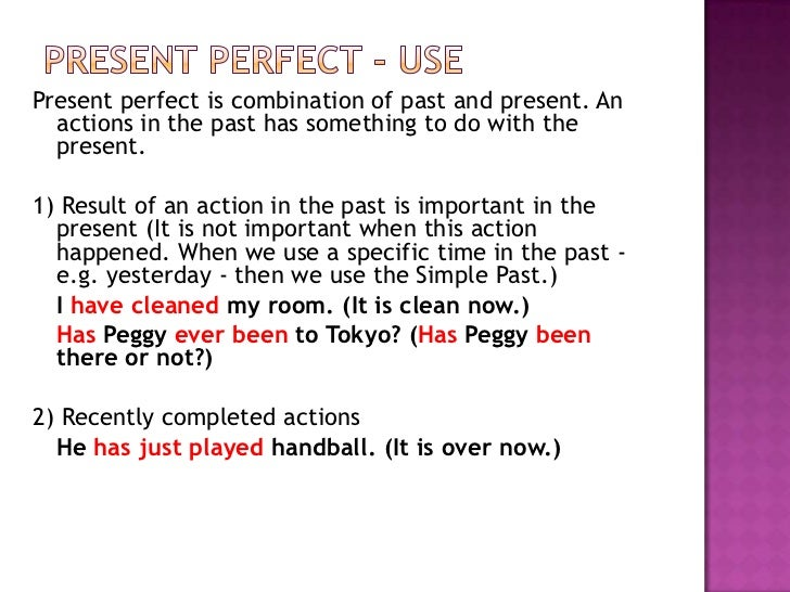 How to Teach the Present Perfect for ESL Students