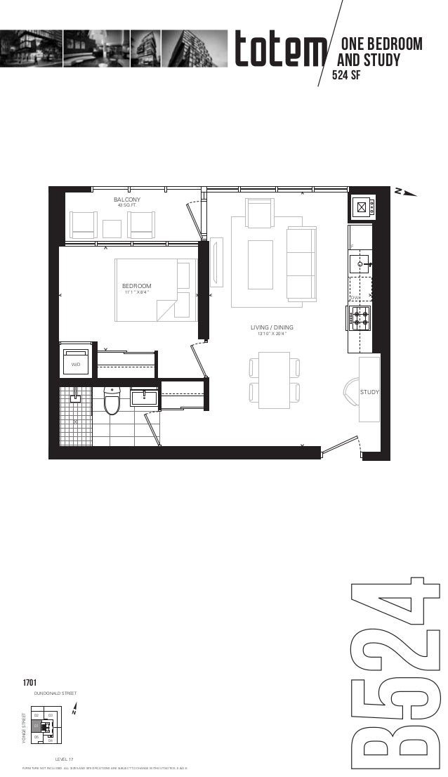 Totem condos floorplans layouts for 18 yonge floor plan