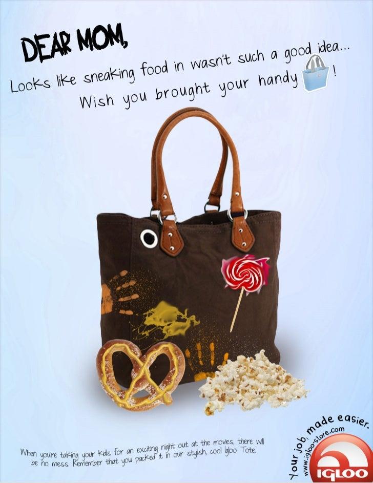 Igloo Tote Bag Advertisement