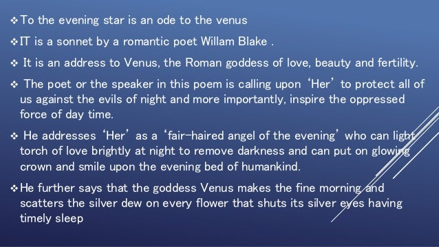 bright star poem summary