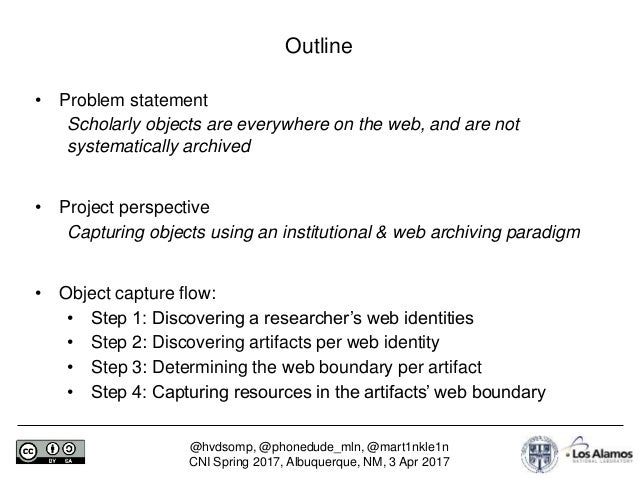 To the Rescue of the Orphans of Scholarly Communication Slide 2