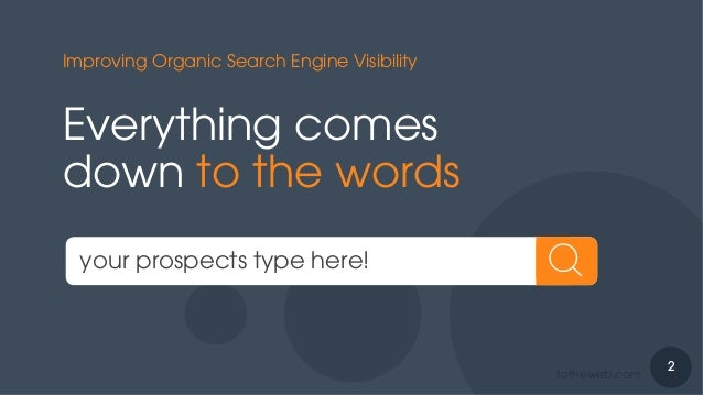 Intelligent Keyword Selection to Improve Search Ranking for B2B Companies Slide 2