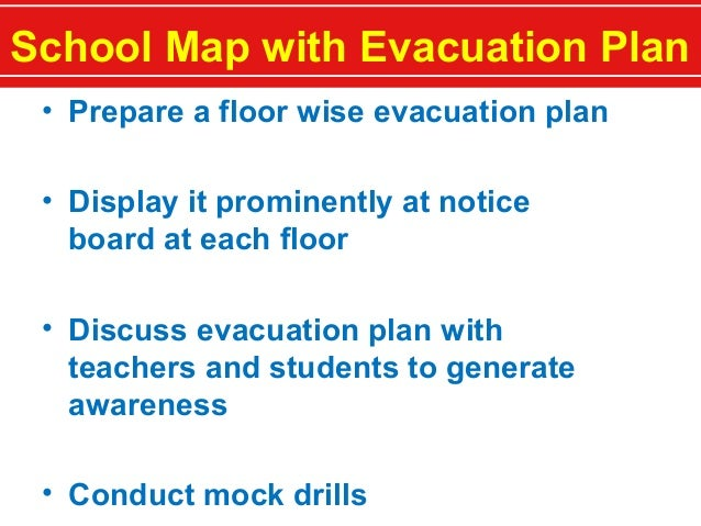 school safety plan The school safety center provides resources to districts and schools to help in the development of high-quality emergency operations and safety plans feeling safe is fundamental for a positive learning environment rcw 28a320125 requires all public school districts and public schools to have current school safety plans and procedures in place.