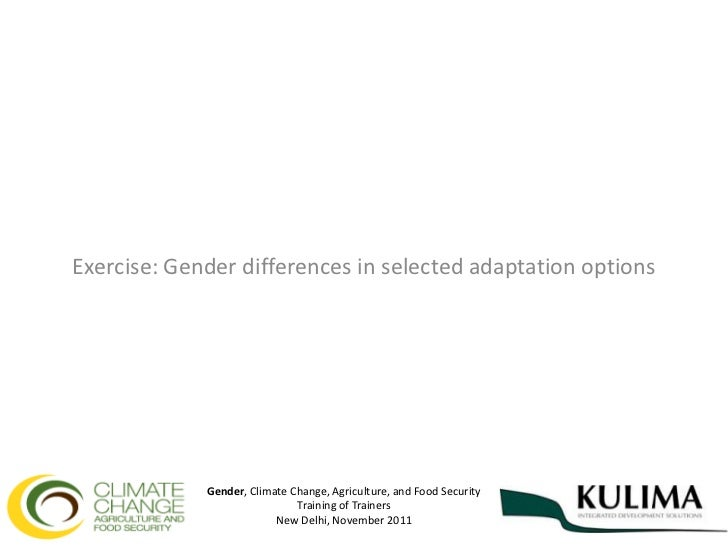South Asian Training on Gender, Climate Change, and